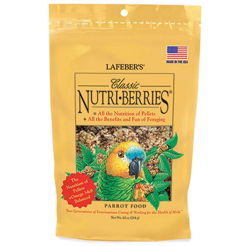 Lafeber Classic Nutri-Berries Parrot Food 10 oz - All Pets Store