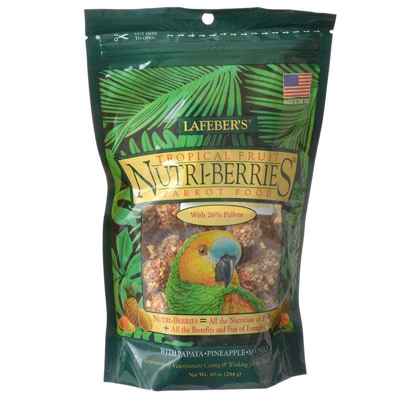 Lafeber Tropical Fruit Nutri-Berries Parrot Food 10 oz - All Pets Store