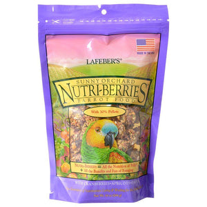 Lafeber Sunny Orchard Nutri-Berries Parrot Food 10 oz - All Pets Store