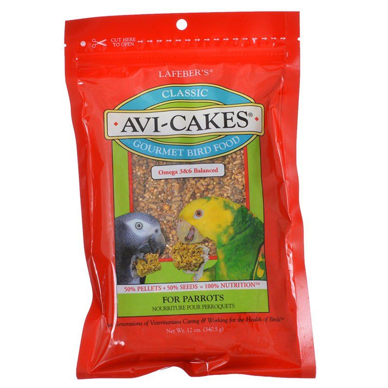 Lafeber Classic Avi-Cakes Gourmet Parrot Food 12 oz - All Pets Store