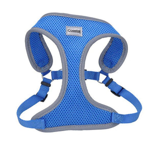 "Coastal Pet Comfort Soft Reflective Wrap Adjustable Dog Harness - Blue Lagoon X-Small - 16-19"" Girth - (5/8"" Straps) - All Pets Store"