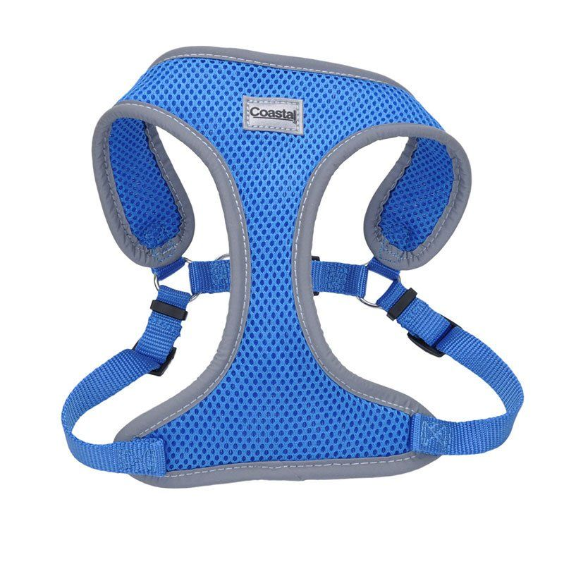 Coastal Pet Comfort Soft Reflective Wrap Adjustable Dog Harness - Blue Lagoon X-Small - 16-19