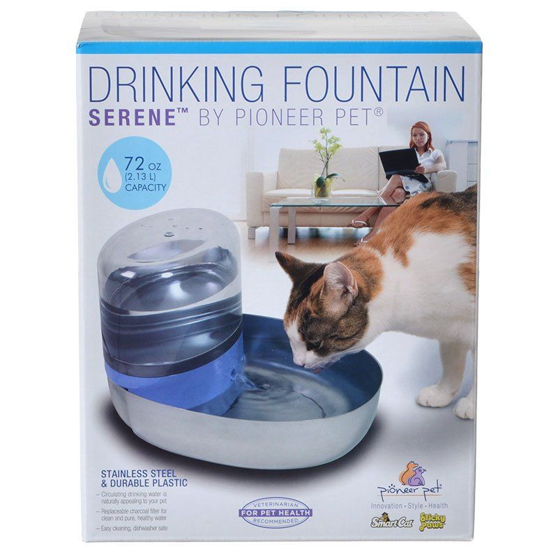 Pioneer Serene Drinking Fountain 72 oz - All Pets Store