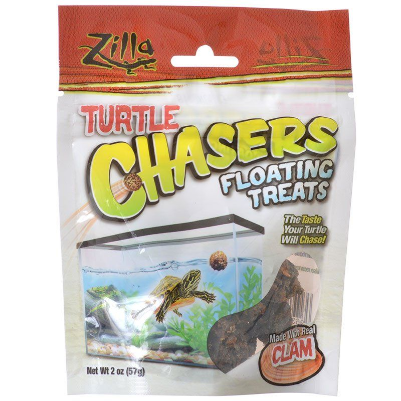 Zilla Turtle Chasers Floating Treats - Clam 2 oz - All Pets Store