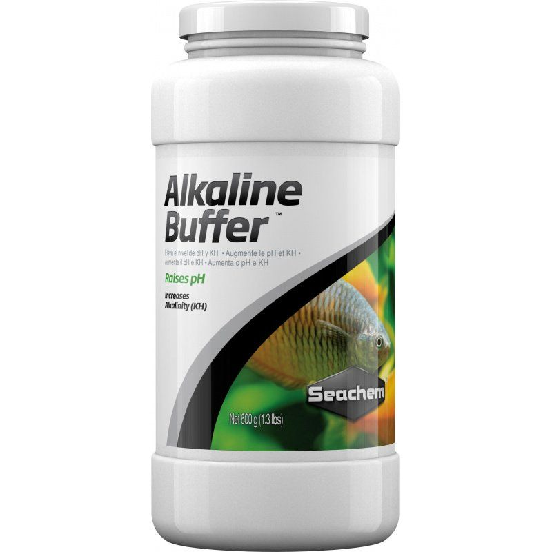 Seachem Alkaline Buffer 600 Grams (1.3 lbs) - All Pets Store