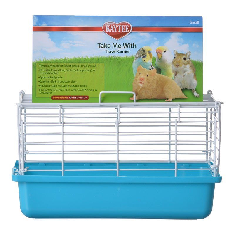 "Kaytee Take Me With Travel Center for Small Pets Small (10""L x 5.75""W x 6""H)"