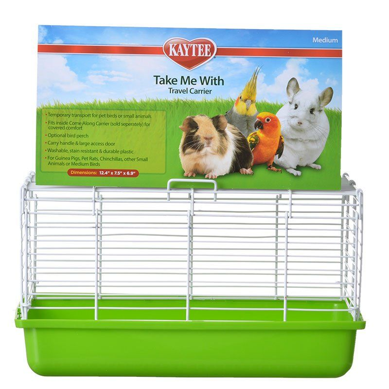 "Kaytee Take Me With Travel Center for Small Pets Medium (13""L x 8""W x 7.5""H)"