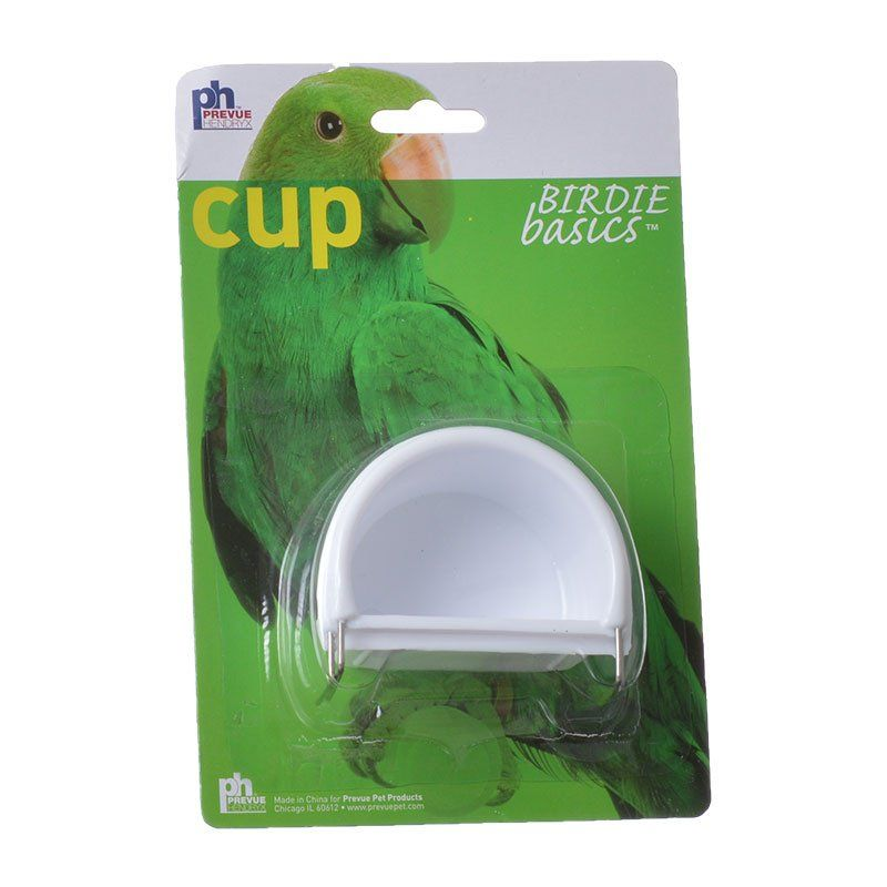 Prevue Birdie Basics Cup Small - 2 Cups - (1.8 & 2.2 oz Capacity) - All Pets Store