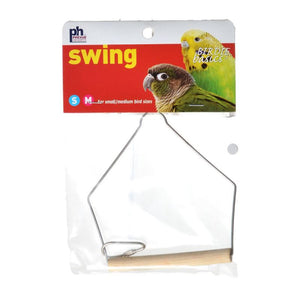 "Prevue Birdie Basics Swing - Small/Medium Birds 4""L x 5""H - All Pets Store"
