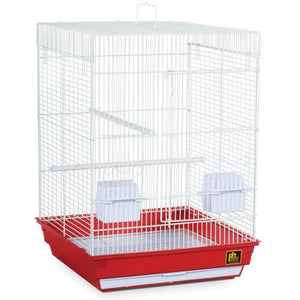 "Prevue Cockatiel Cage Small - 1 Pack - (16""L x 16""W x 22""H) - All Pets Store"