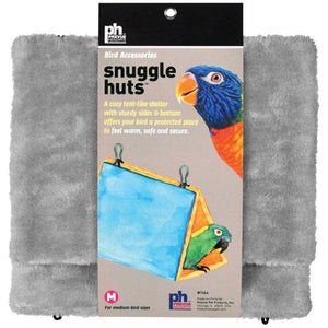 "Prevue Snuggle Hut Medium - 9.75""L x 5.75""W x 10.5""H - (Assorted Colors) - All Pets Store"