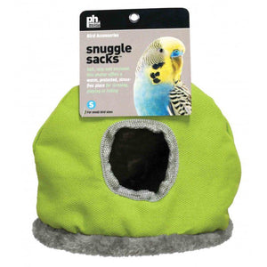 "Prevue Snuggle Sack Small - 6.25""L x 4.5""W x 8""H - (Assorted Colors) - All Pets Store"