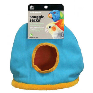 "Prevue Snuggle Sack Large - 8.25""L x 6""W x 11""H - (Assorted Colors) - All Pets Store"