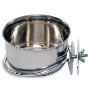 Prevue Stainless Steel Coop Cup with Bolt 10 oz