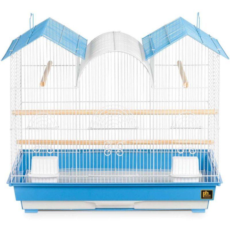 "Prevue Triple Roof Bird Cage 1 Pack - (26""L x 14""W x 22.5""H) - All Pets Store"