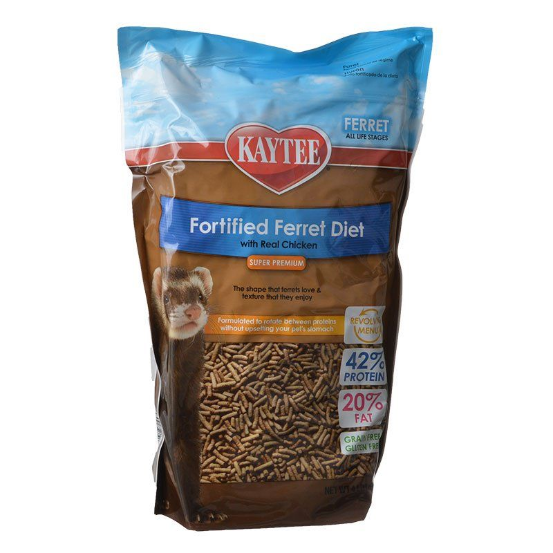 Kaytee Fortified Ferret Diet with Real Chicken 4 lbs - All Pets Store