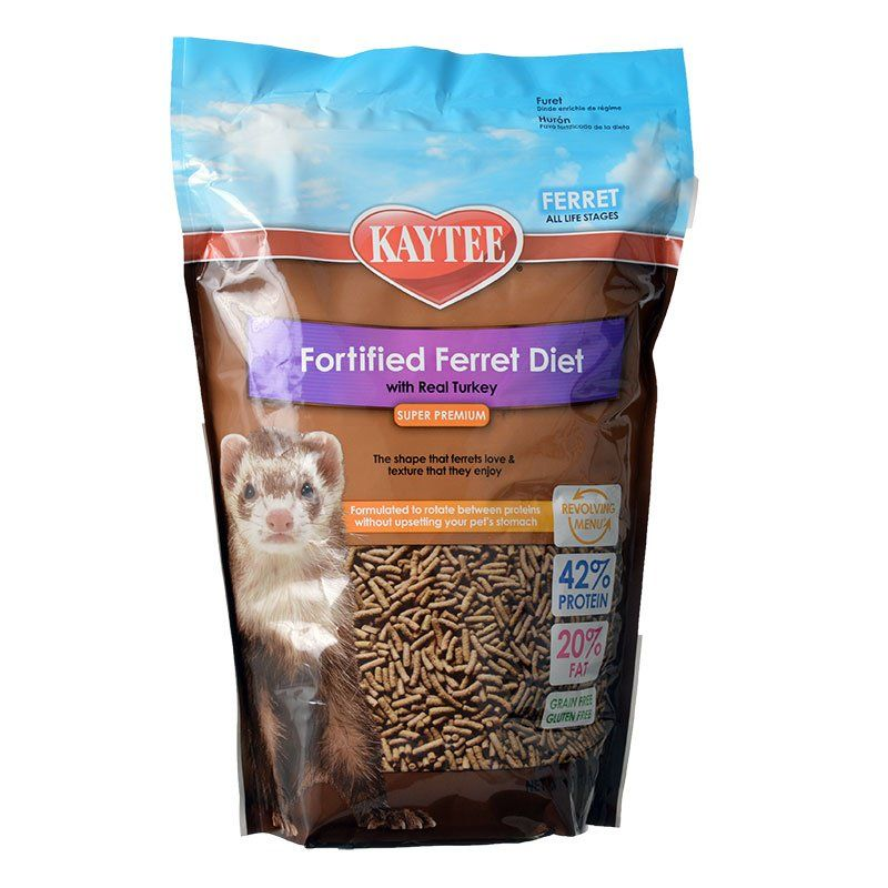 Kaytee Fortified Ferret Diet with Real Turkey 4 lbs - All Pets Store