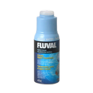 Fluval Quick Clear 4 oz (120 ml) - Treats 480 Gallons - All Pets Store