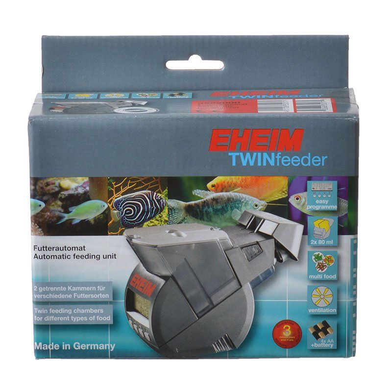 Eheim Twin Feeder Automatic Feeding Unit 1 Pack - All Pets Store