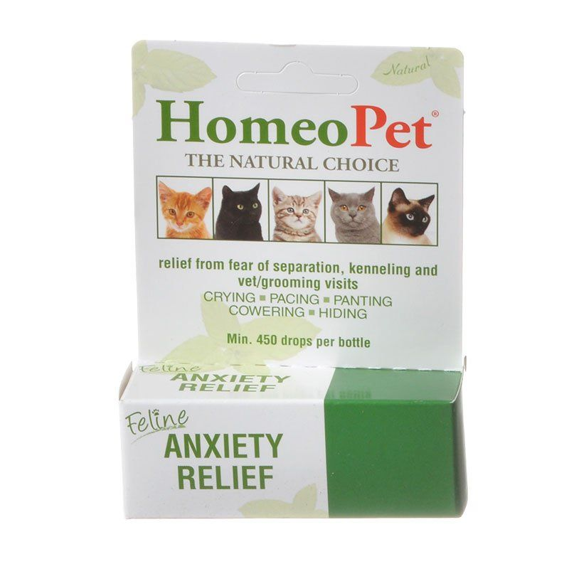 HomeoPet Feline Anxiety Relief 15 ml - All Pets Store