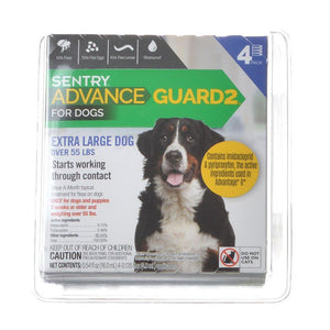 Sentry Advance Guard 2 for Dogs Dogs 55+ lbs - 4 Month Supply - All Pets Store