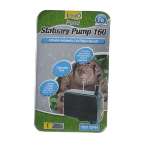 Tetra Pond Statuary Pump with Auto Shut-Off 160 GPH - All Pets Store