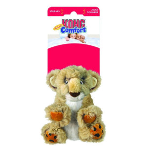 "Kong Comfort Kiddos Dog Toy - Lion Small - (4.8""W x 6.8""H) - All Pets Store"
