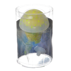 Aquatop Silicone Jellyfish Aquarium Ornament - Rhizostome Pulmo Small - 1 Pack - All Pets Store