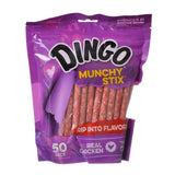 "Dingo Munchy Stix Chicken & Rawhide Chews (No China Sourced Ingredients) 50 Pack - (5"" Sticks) - All Pets Store"