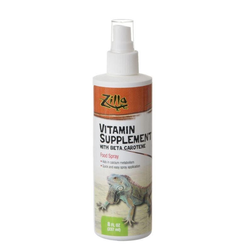 Zilla Vitamin Supplement with Beta Carotene 8 fl. oz (236 ml) - All Pets Store