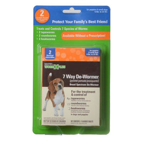 Sentry Worm X Plus - Small Dogs 2 Count - All Pets Store