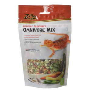 Zilla Reptile Munchies - Omnivore Mix 4 oz - All Pets Store