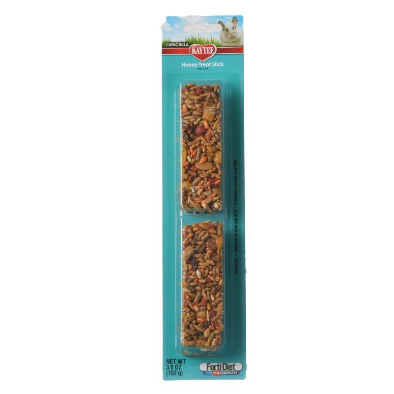Kaytee Chinchilla Honey Treat Stick with DHA 2 Pack - All Pets Store