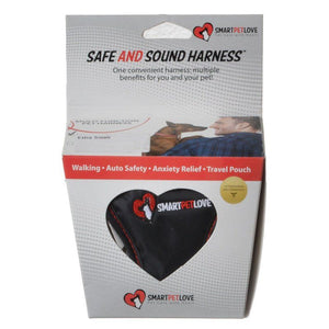 "SmartPetLove Safe & Sound Harness X-Small - Dogs up to 5 lbs - (Chest: 7""-10"" / Neck: 6""-9"") - All Pets Store"