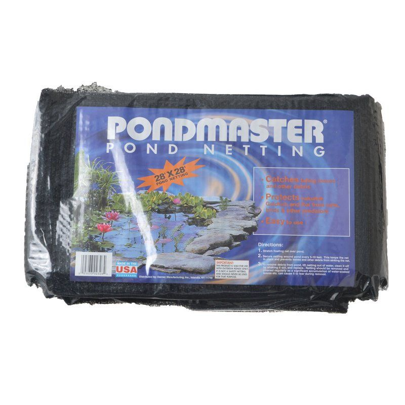 Pondmaster Pond Netting 28' Long x 28' Wide - All Pets Store