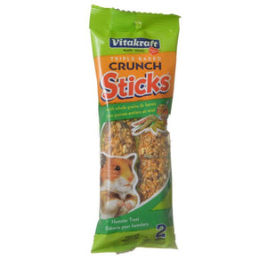 Vitakraft Crunch Sticks Hamster Treat - Whole Grains & Honey 2 Pack - (4 oz) - All Pets Store