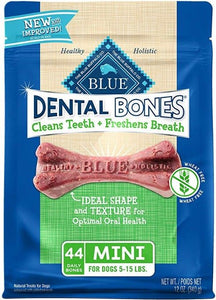 Blue Buffalo Dental Bones Mini - 44 Pack - (Dogs 5-15 lbs) - All Pets Store