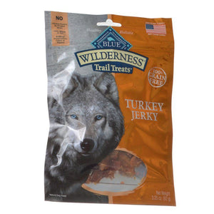 Blue Buffalo Wilderness Trail Treats for Dogs - Turkey Jerky 3.25 oz - All Pets Store