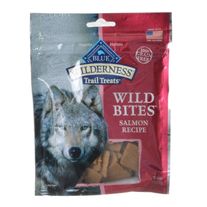 Blue Buffalo Wilderness Trail Treats Wild Bites - Salmon Recipe 4 oz - All Pets Store
