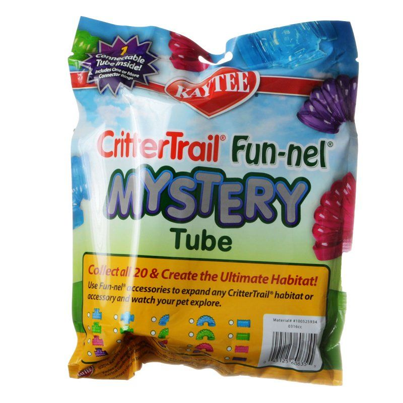 Kaytee CritterTrail Fun-nel Mystery Tube 1 Pack - (Assorted Pieces) - All Pets Store