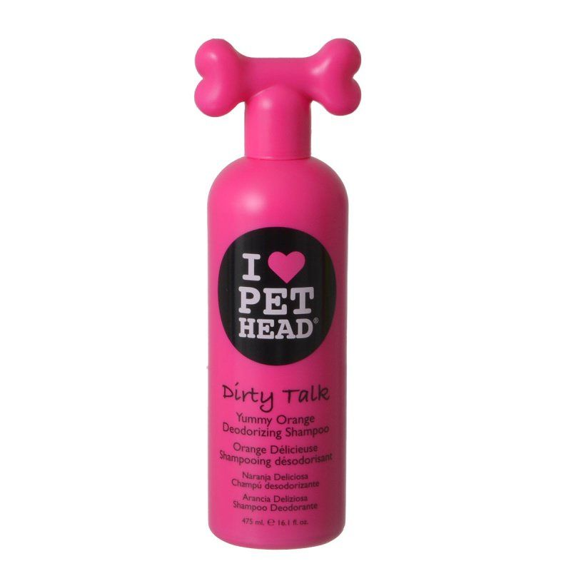 Pet Head Dirty Talk Deodorizing Shampoo - Yummy Orange 16.1 oz