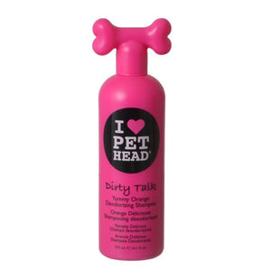 Pet Head Dirty Talk Deodorizing Shampoo - Yummy Orange 16.1 oz - All Pets Store