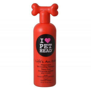 Pet Head Life's an Itch Skin Soothing Shampoo - Watermelon 16.1 oz (475 ml) - All Pets Store