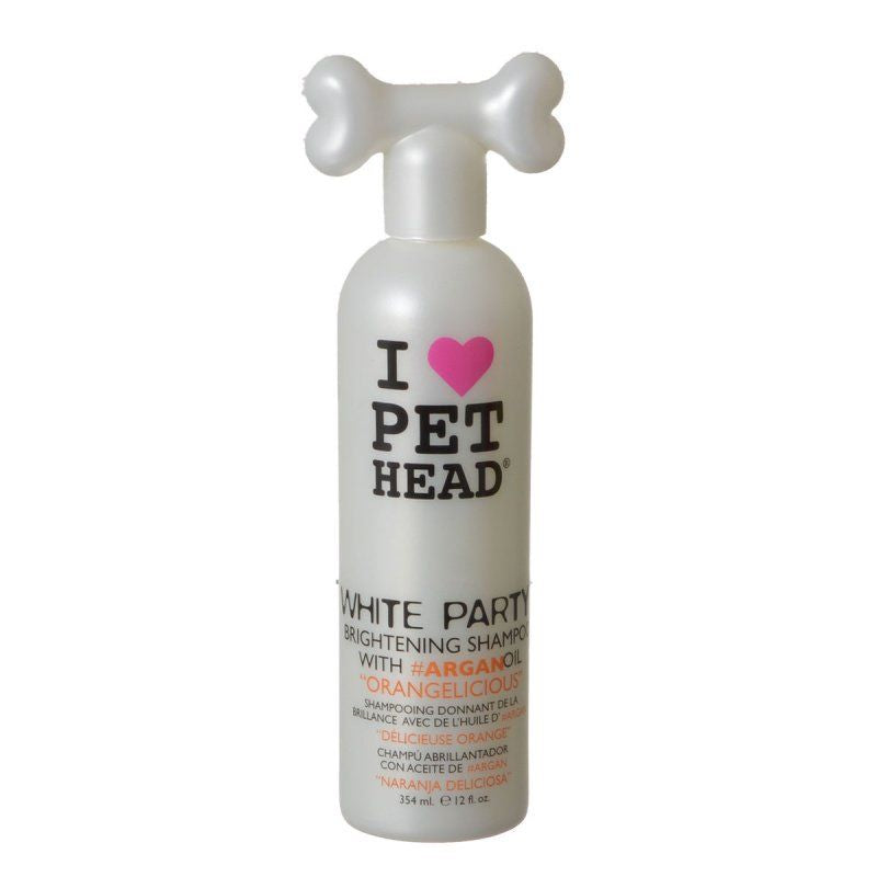 Pet Head White Party Brightening Shampoo - Orangelicious 12 oz (354 ml)