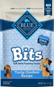 Blue Buffalo Blue Bits Soft-Moist Training Treats - Tasty Chicken Recipe 4 oz - All Pets Store