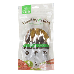 Healthy Hide Triple Flavor Pizzle Kabobs 5 Count - All Pets Store
