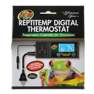 Zoo Med Reptitemp Digital Thermostat 1 Count - All Pets Store