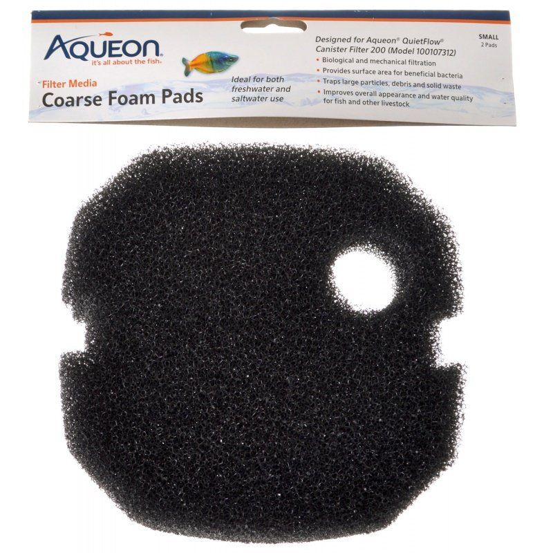 Aqueon Coarse Foam Pads - Small 2 Count - All Pets Store