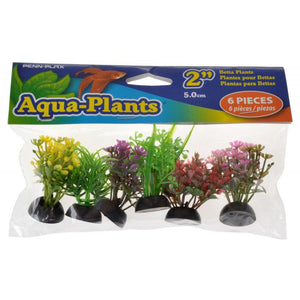 Penn Plax Aqua-Plants Betta Plants - Small 6 Count - All Pets Store
