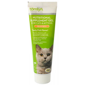 Tomlyn Felovite II Nutritional Supplement Gel for Cats & Kittens 2.5 oz - All Pets Store